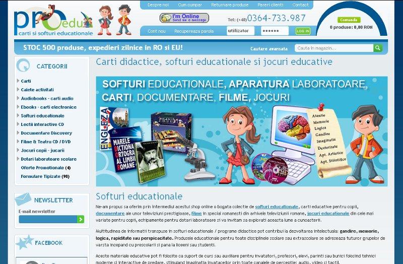 Magazin softuri si jocuri educationale pentru copii , documentare si filme