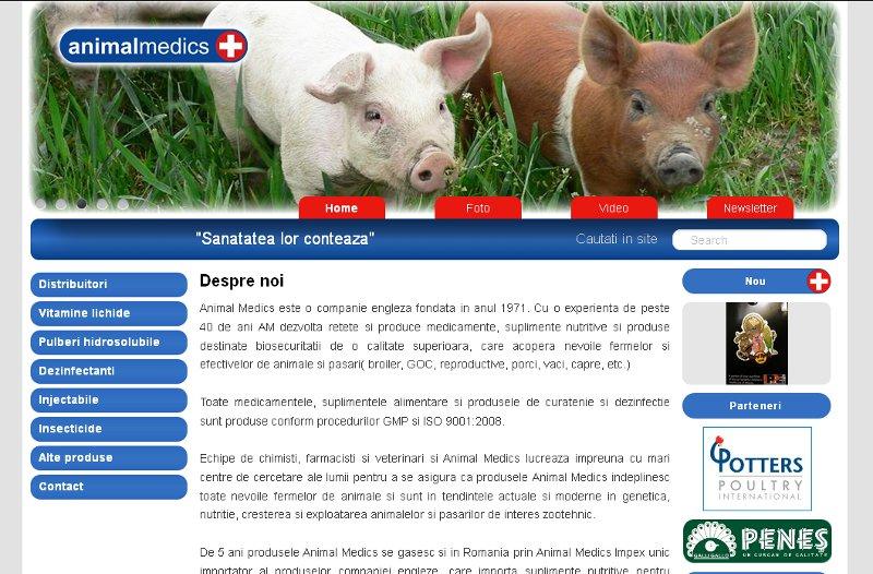AnimalMedics sanatatea animalelor tale