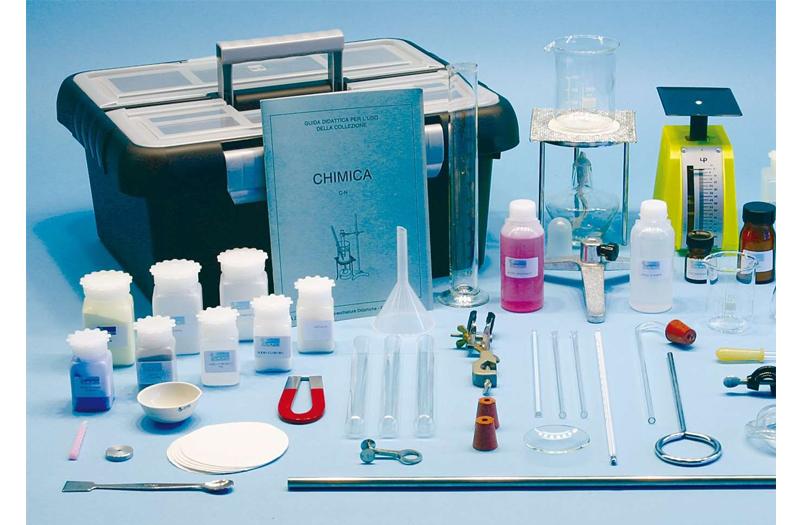 kit experimente chimie