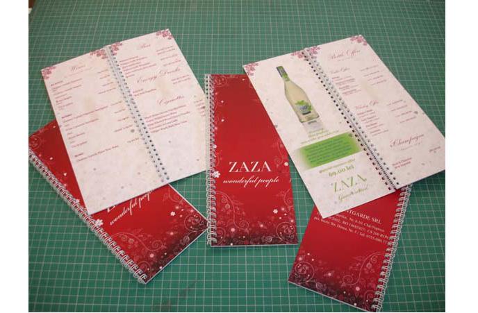 meniu restaurant Zaza