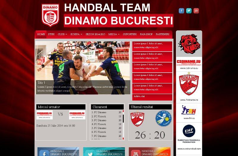 Handbal Dinamo Bucuresti
