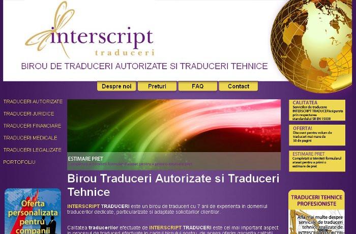 Interscript traduceri