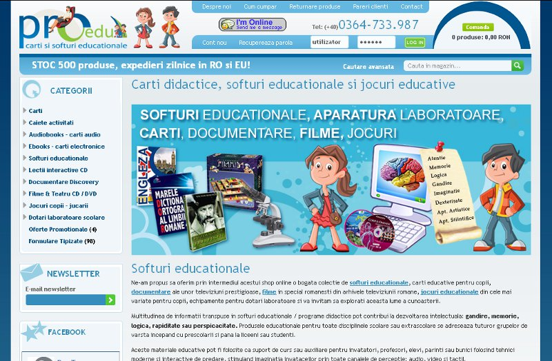 Magazin softuri educationale